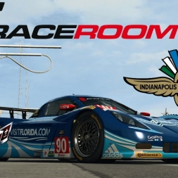 Raceroom Corvette DP In Indianapolis Test