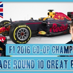 TwinRaGe Youtube Co-op Championship F1 2016 - Round 9 Great Britain