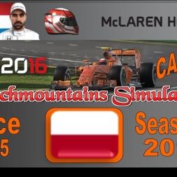 F1 2016 Career Season 3 Singapore