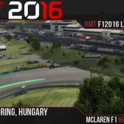 F1 2016 // Ramteam F1 2016 League S1, R11 - Hungary [60fps]