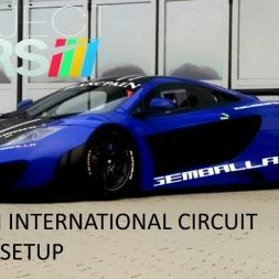 Project CARS Zhuhai Race Mclaren MP4 12C GT3 + Setup