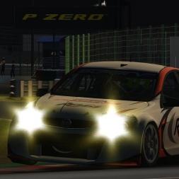 Automobilista | Practice Lap at Night | Super V8 | Kansai