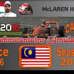 F1 2016 Career Season 3 Malaysia