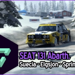 DIRT RALLY | | SEAT 131 ABARTH | ELGSJON | GAMEPLAY ESPAÑOL