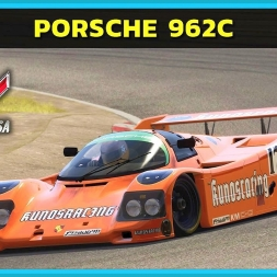 Assetto Corsa - Porsche 962C Short Tail at Zandvoort (PT-BR)