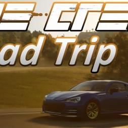 Road Trip | Mid West to San Francisco | Subaru BRZ | Time Lapse | The Crew Wild Run [4K]