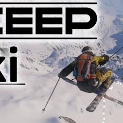 Steep Beta - The Ski Experience | POV | Tricks | Jumps | Falls [4K]