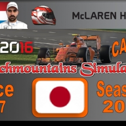 F1 2016 Career Season 3 Japan