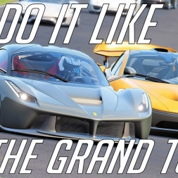 Do it like The Grand Tour | Ferrari LaFerrari vs McLaren P1 vs Porsche 918 Spyder | Assetto Corsa