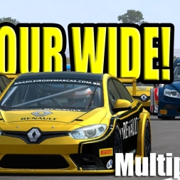 [Automobilista] Multiplayer Compilation: Touring car racing at its finest!