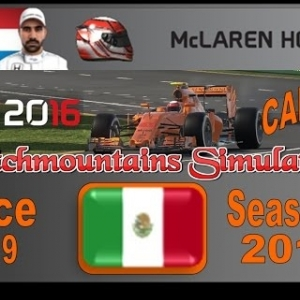 F1 2016 Career Season 3 Mexico