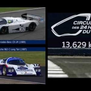 Assetto Corsa - Porsche 962C vs Mercedes-Benz C9 @ Le Mans