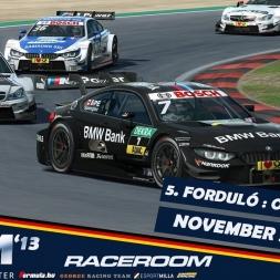 VSR DTM 2013 | RaceRoom |  Oschersleben - Race 1 [KÖZVETÍTÉS]