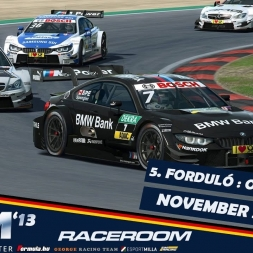 VSR DTM 2013 | RaceRoom | Oschersleben - Race 2 [KÖZVETÍTÉS]