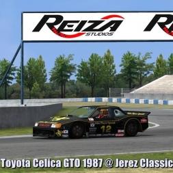 Toyota Celica GTO 1987 @ Jerez Classic - Automobilista 60FPS