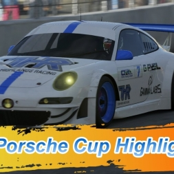 Online Racing league: Porsche Cup Highlights