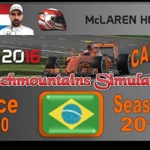 F1 2016 Career Season 3 Brazil