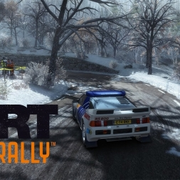 DiRT Rally - Col de Turini Sprint en Montee - Ford RS200 - 03:11.125