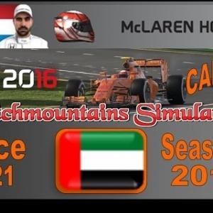 F1 2016 Career Season 3 Abu Dhabi