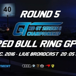 RD GT Championship S6 | R5 Red Bull Ring GP