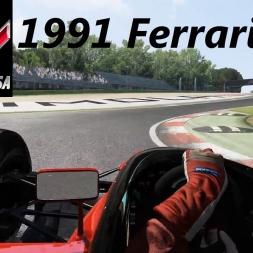 Assetto Corsa (1.9.3) - The pure V12 sound of the 1991 Ferrari 643 by ASR Formula