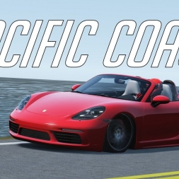 Having a relaxing drive at Pacific coast - Assetto Corsa