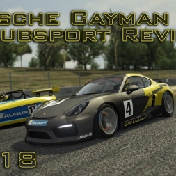 Assetto Corsa Gameplay | Porsche Cayman GT4 Clubsport Review | Episode 118