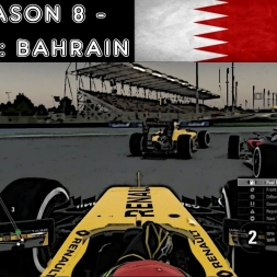 F1 2016 - F1XL Season 8 - Race 12: Bahrain