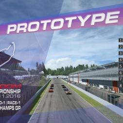 RaceRoom | P2/S1: Online Championship`16 (R-1/Race-1-2 Spa Francorchamps GP)