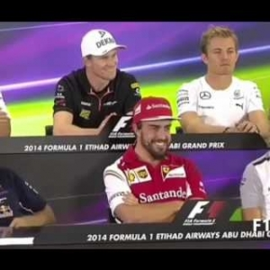 F1 Funny Press Conference Question