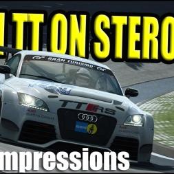 Audi TT RS VLN First Impressions @ Nordschleife VLN