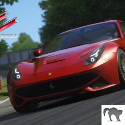 Assetto Corsa - Ferrari F12 Berllineta mod Race Gameplay 1440p 60fps