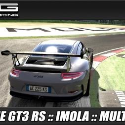 Assetto Corsa :: Porsche 911 GT3 RS :: Imola :: Multiplayer :: TrackIR