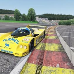 Assetto Corsa: 1988 Camel Brun Porsche 962C @ Spa-Francorchamps