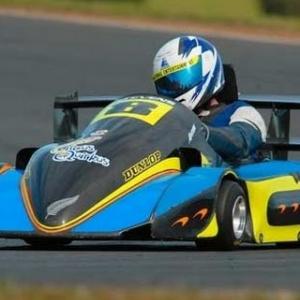 Automobilista Helmet cam SuperKart at Winton race AI 95%