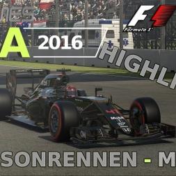 F1 2016 | LIGA 2016 | 3. Saisonrennen | Mexiko [GPGAMES.eu]