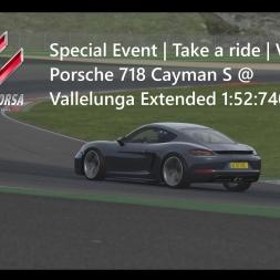 Assetto Corsa | Take a ride Achievement | Porsche 718 Cayman S @ Vallelunga 1:52:740min