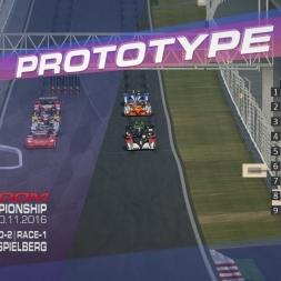RaceRoom | P2/S1: Online Championship`16 (R-1/Race-1-2 Red Bull Ring Spielberg)