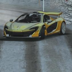 rFactor | Iriski Venac Snow | McLaren P1 | Drift & Hill Climb