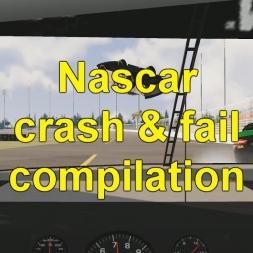Assetto Corsa - crazy Nascar Crash & Fail compilation