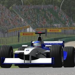 Automobilista | Hotlap | Formula V10 | Imola 2001 [1:18.367]