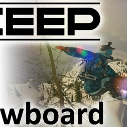 Steep - The Snowboard Experience | POV | Crazy Jumps | Tricks [4K]