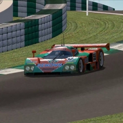 Nascar Racing 2003: 1991 Mazda 787B @ Road Atlanta - Group C - Redline GTP Mod