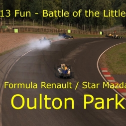 iRacing - Battle of the Little Wings @ Oulton Park