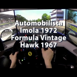 Automobilista - Imola 1972 - Formula Vintage - Hawk 1967