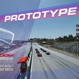 RaceRoom | P2/S1: Online Championship`16 (R-3/Race-1-2 Mazda Laguna Seca)