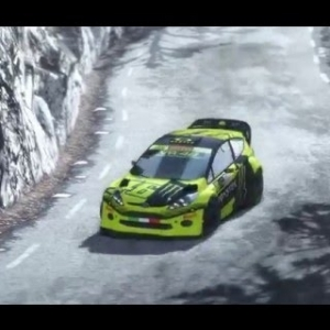 DiRT Rally - Ford Fiesta - Valentino Rossi - Monte Carlo - (PC HD) [1080p]