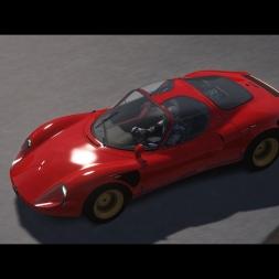 Alfa Romeo 33 Stradale / LuccaRing / Checkup