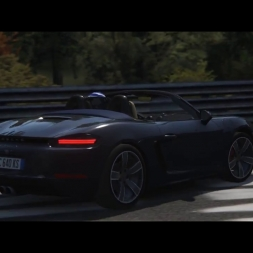 Porsche 718 Boxster S / Nordschleife / Crash