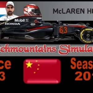 F1 2016 Career Season 4 China